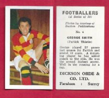 Partick Thistle George Smith 4